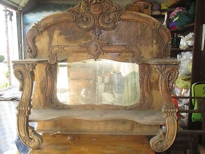 VICTORIAN TOP OF BUREAU OR BUFFET 45x44 inches