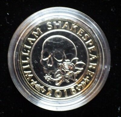 2016 £2 BU Coin Shakespeare Tragedies Tragedy Two Pound Brilliant Uncirculated