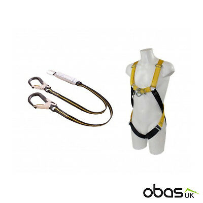 Ridgegear RGHK4 | Twin Leg Scaffolding Fall Arrest Safety Harness