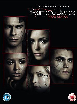 THE VAMPIRE DIARIES Stagione 1-8 Serie Completa BOX 43 DVD in Inglese Nuovo
