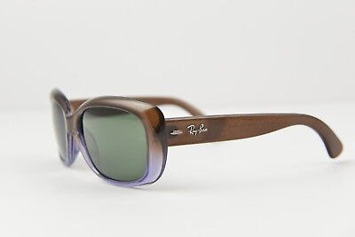 Ray-Ban women sunglasses RB4101 JACKIE OHH 860/51 58-17 135 Gradient Brown/ G-15