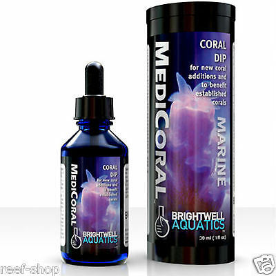 Brightwell MediCoral Coral Dip 30 ml Coral Frag Dip FREE USA SHIPPING!