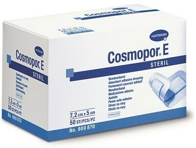 Cosmopor E Sterile First Aid Absorbent Adhesive Wound Dressing 7.2cm x 5cm