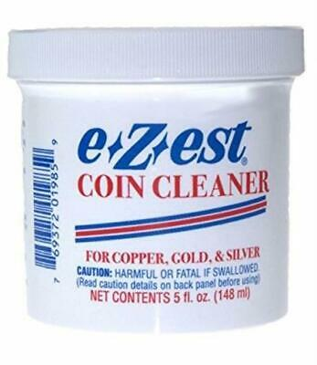 E Z est Ezest Easy Coin Jewelry Cleaner 5 oz for Gold Silver & Copper Items