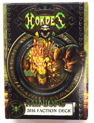 Hordes Minions 2016 Faction Deck Factory Sealed PIP 91114