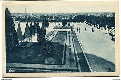 CPA - Carte postale -France - Saint Cloud - Parc - Vue générale de Paris - 1929