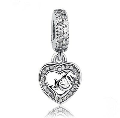 3aec5e3c9 Pandora Centre Of My Heart Pendant Charm S925 791521CZ Mother Charm (With  Pouch)