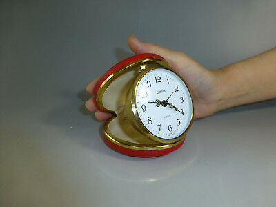 EXC Vintage German Made Linden Travel Alarm Clock Fully Serviced (Watch Video)