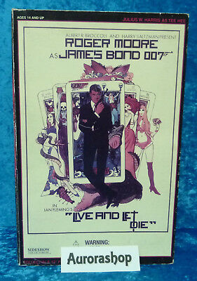 Sideshow Figur Julius W. Harris als Tee Hee / James Bond 007 Live and let die