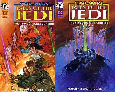 Star Wars Comic Set TALES OF THE JEDI FREEDON NADD UPRISING Complete #1-2