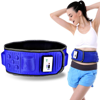 Massage Belt,Slimming Fitness Belt Electric Lose Weight Vibration Waist Exercise