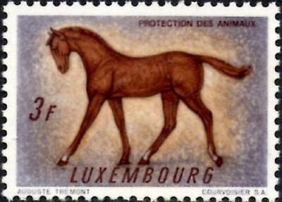 (Ref-12844) Luxembourg 1961 Animal Protection  3f. Horse  SG.693  Mint MNH