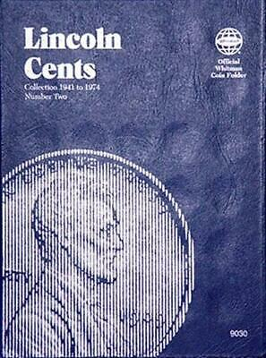 Whitman Lincoln Cents Coin Folder 1941-1974 Vol No 2 Penny Album Book 9030 NEW
