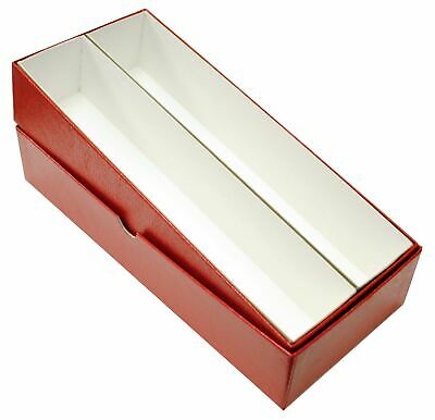 2x2 Coin Flips 10 Inch Red Box Quality Collectors Storage Case Double Row US