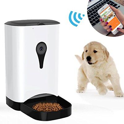 Automatic Cat Feeders, Selighting Wireless Smart Pet Feeder for Dog or Cat, Cont
