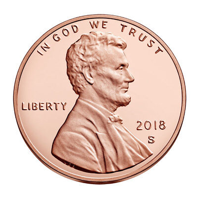 In stock! 2018-S Lincoln Cent Proof - Deep Cameo coin