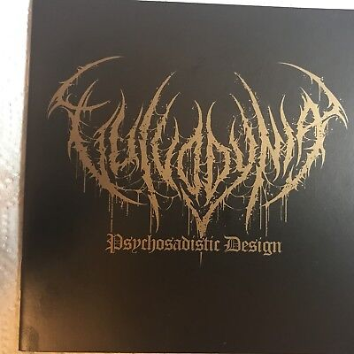 VULVODYNIA (South Africa) ‎– Psychosadistic Design (Tour Edition) CD 2017 (Slam)