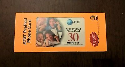 AT&T PrePaid Phone Card Issued 30 Minutes Within the U.S.