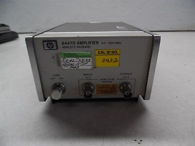 HP 8447A Amplifier 0.1-1300Mhz