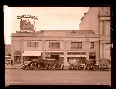 """1930's Super High Quality B/w """"thick"""" Celluloid Negative Cowell Bros Timber C34"""