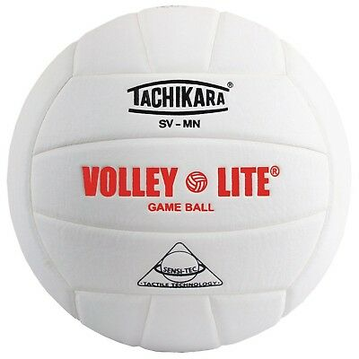 Tachikara SV-MN Volley-Lite Volleyball with Sensi-Tech Cover, Regulation Size...