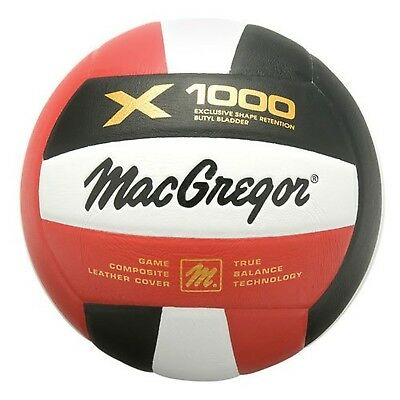 MacGregor X1000 Composite Volleyball, Royal/White