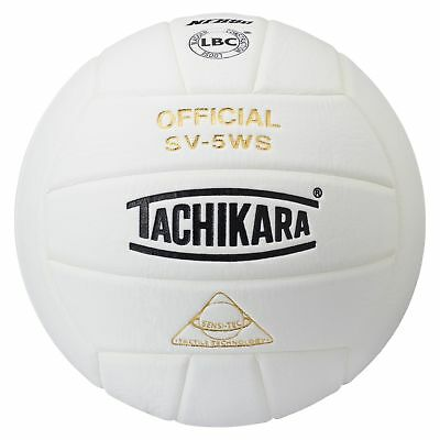 Tachikara TACSV5WS NFHS Approved Sensi-Tec Composite High Performance Volleyb...