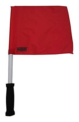Tachikara VB-LF2 Volleyball Official's Flag Set, Scarlet White