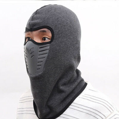 2017 Winter Bicycle Windproof Face Mask Neck Helmet Cap Thermal Fleece Hat Vogue