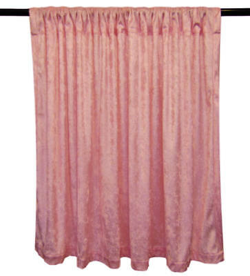 MANY COLORS ROYAL  CRUSH SILK RING EYELET CURTAIN WITH TIE BACK 120X213CM