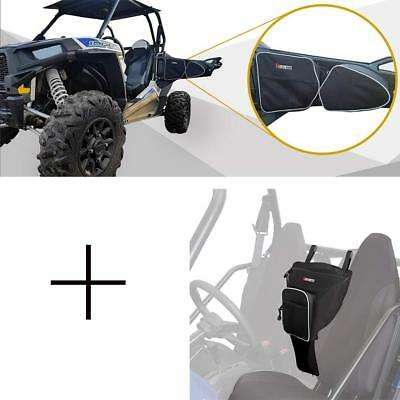 Cab Pack Storage Bag & Door Bags for Polaris RZR XP 900XC S900 2014-2017