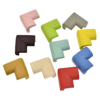 10pcs Soft Baby Proofing Corner Child Guard Edge Protector Double Sided Adhesive