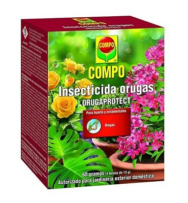 Compo insecticida orugas Orugaprotect 4x15 Gr