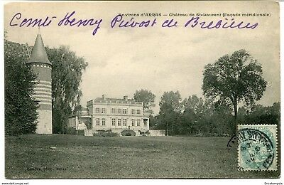 CPA - Carte postale -France - Arras -Château de Saint Laurent (CP587)