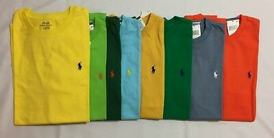 New With Tags Polo Ralph Lauren Boy's Short.sleeve T.shirts  6 / 7 / 8 /m / L/xl