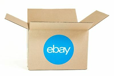 "eBay-Branded Boxes With Blue 2-Color Logo 12"" x 10"" x 8"""