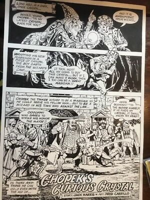 Gold Key Complete Story Fred Carrillo And Jack Harris 1985 7 Pages