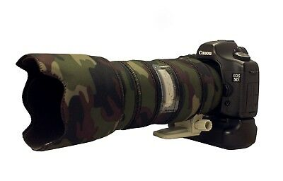 Canon 400mm f2.8 IS mk2 Neoprene lens camouflage coat cover brown camo premium