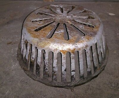 Reclaimed Vintage Antique Blake Cast Iron Drain Cover, Steampunk, Re-purpose