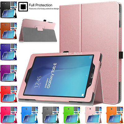 "Smart Leather Magnetic Stand Case Cover For Samsung Galaxy Tablet E 9.6"" SM-T560"