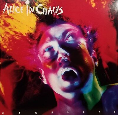 "ALICE IN CHAINS ""FACELIFT"" Album Flat Suitable For Framing Mint! 1991"