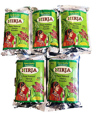 Natural Henna Pure 100% Powder For Hair Tattoo Body Art -Nirja original Indian