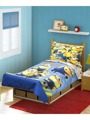 Despicable Me 4-Piece Toddler Bedding Set