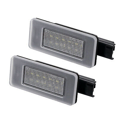 2x LED LICENSE NUMBER PLATE LIGHT PEUGEOT 208 308 II 2008 3008 5008 CANBUS SUV