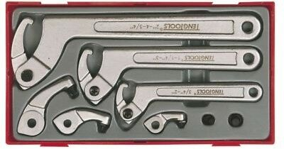 Teng Tools Hook and Pin Wrench Set 8 Pieces