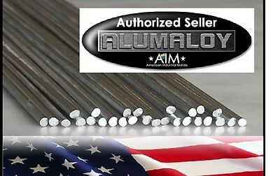 ALUMALOY 10 Rods: Aluminum REPAIR Rods No Welding Fix Cracks Use Propane Torch