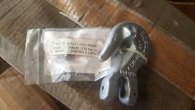 "Crosby L-1338 3/8"" Grade 100 Locking Clevis Grab Hook # 1049498"