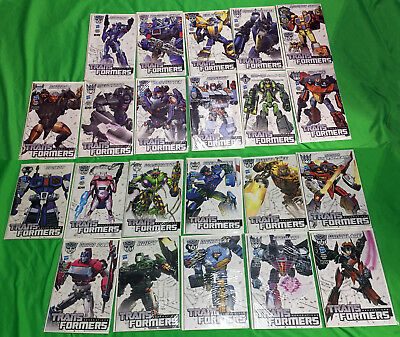 Transformers Generations COMIC BOOK Lot of 22 Comics Thrilling 30 Hasbro IDW