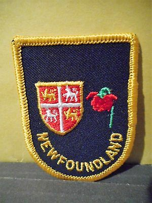 Newfoundland Boy Scouts of Canada Patch