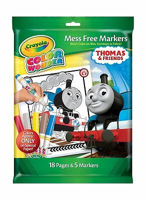 DISNEY Cars Crayola MESS FREE Color Wonder 15 Coloring Pages & 3 ...